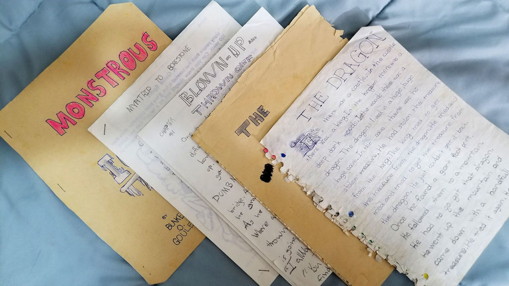Old writings (sample)